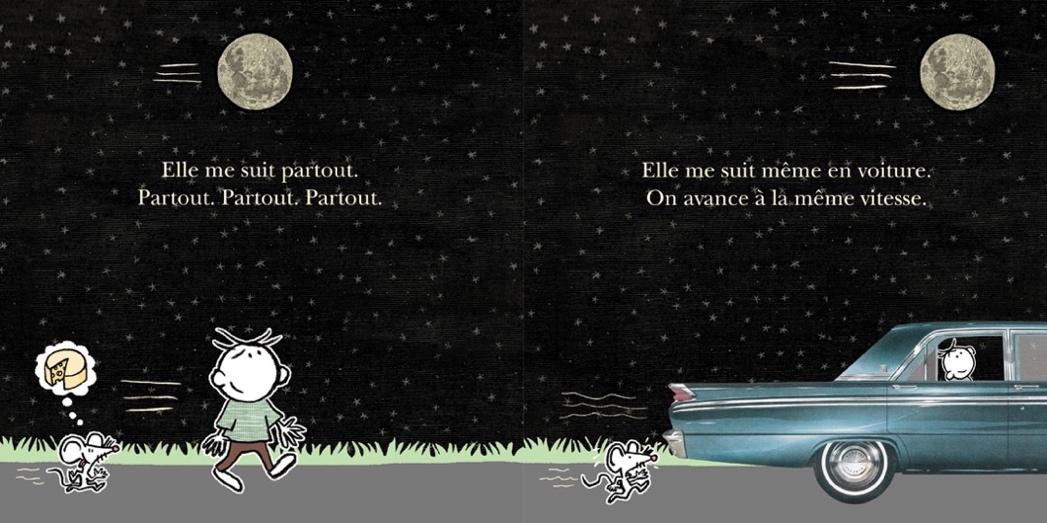 Extrait de Mon amie la Lune - Éditions de l'Isatis