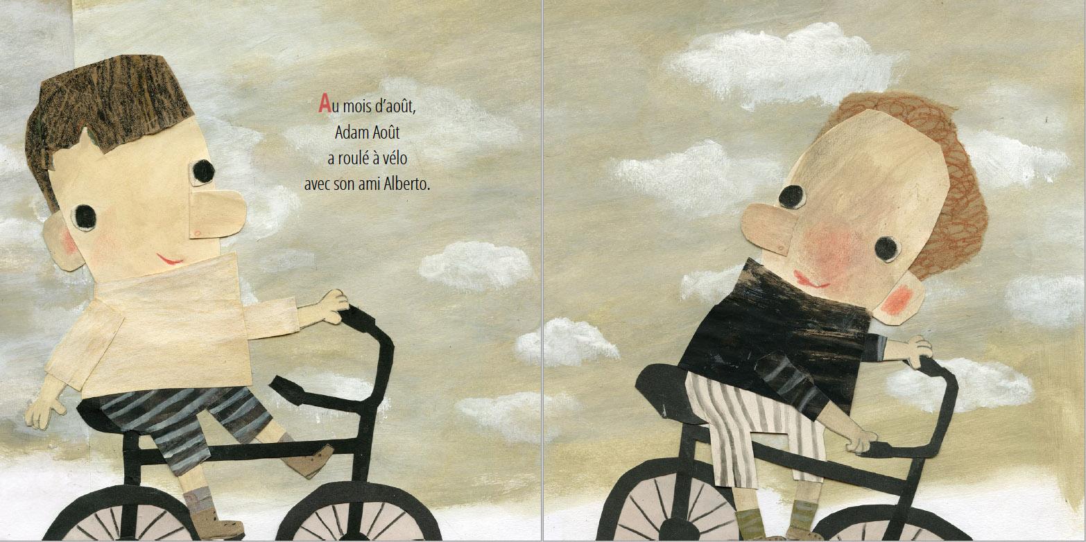 Extrait de De Jade Janvier à Dany Décembre - Éditions de l'Isatis