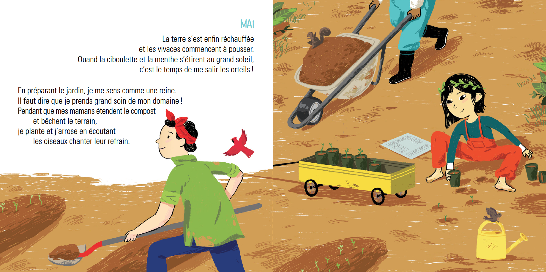 Extrait de Mon beau potager - Éditions de l'Isatis