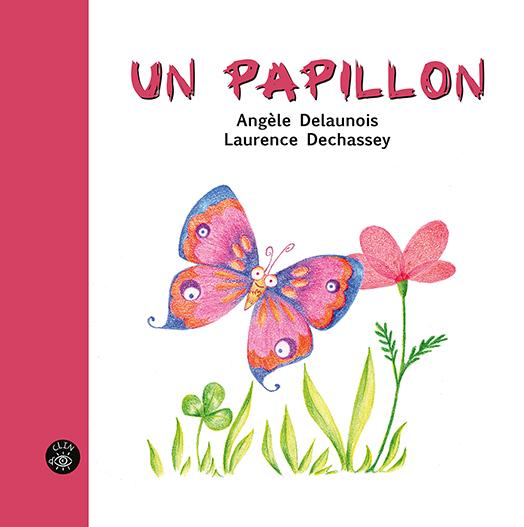 Un papillon - Éditions de l'Isatis