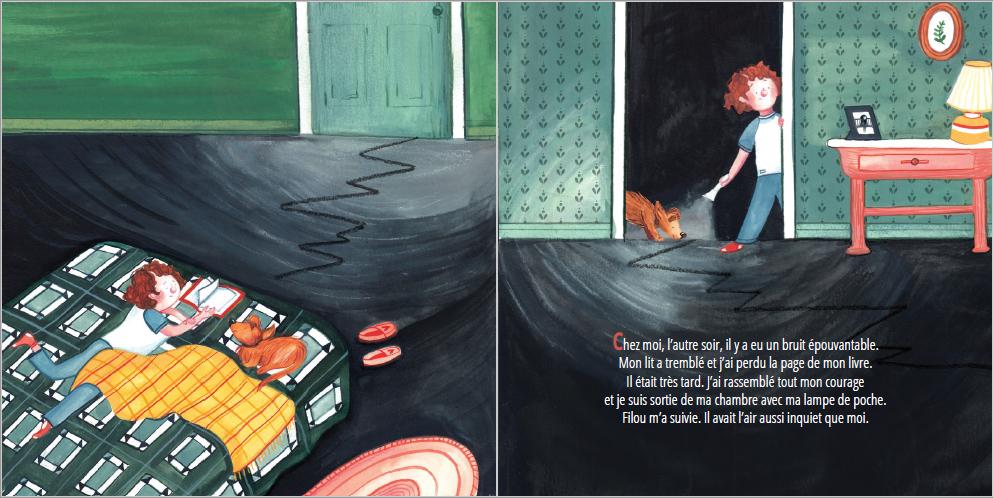 Extrait de Dans mes bottes de sept tonnes - Éditions de l'Isatis
