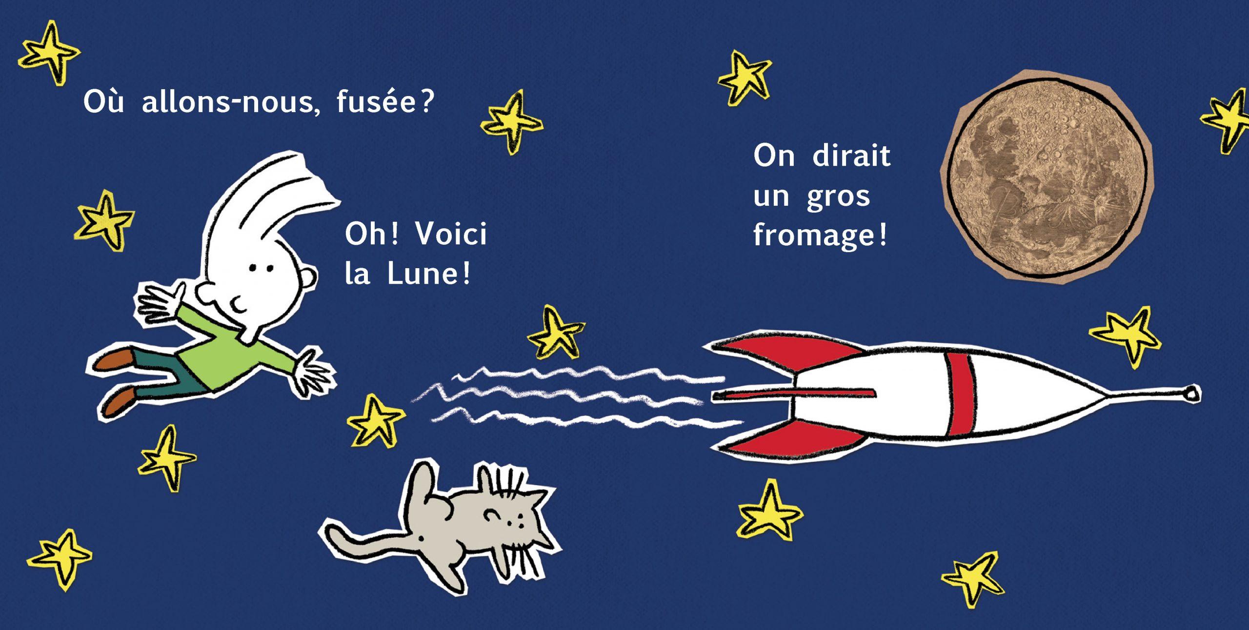 Extrait de Ma fusée - Éditions de l'Isatis