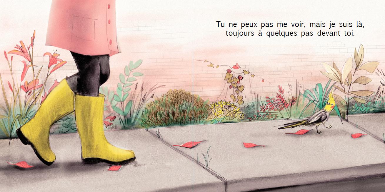 Extrait de Demain - Éditions de l'Isatis